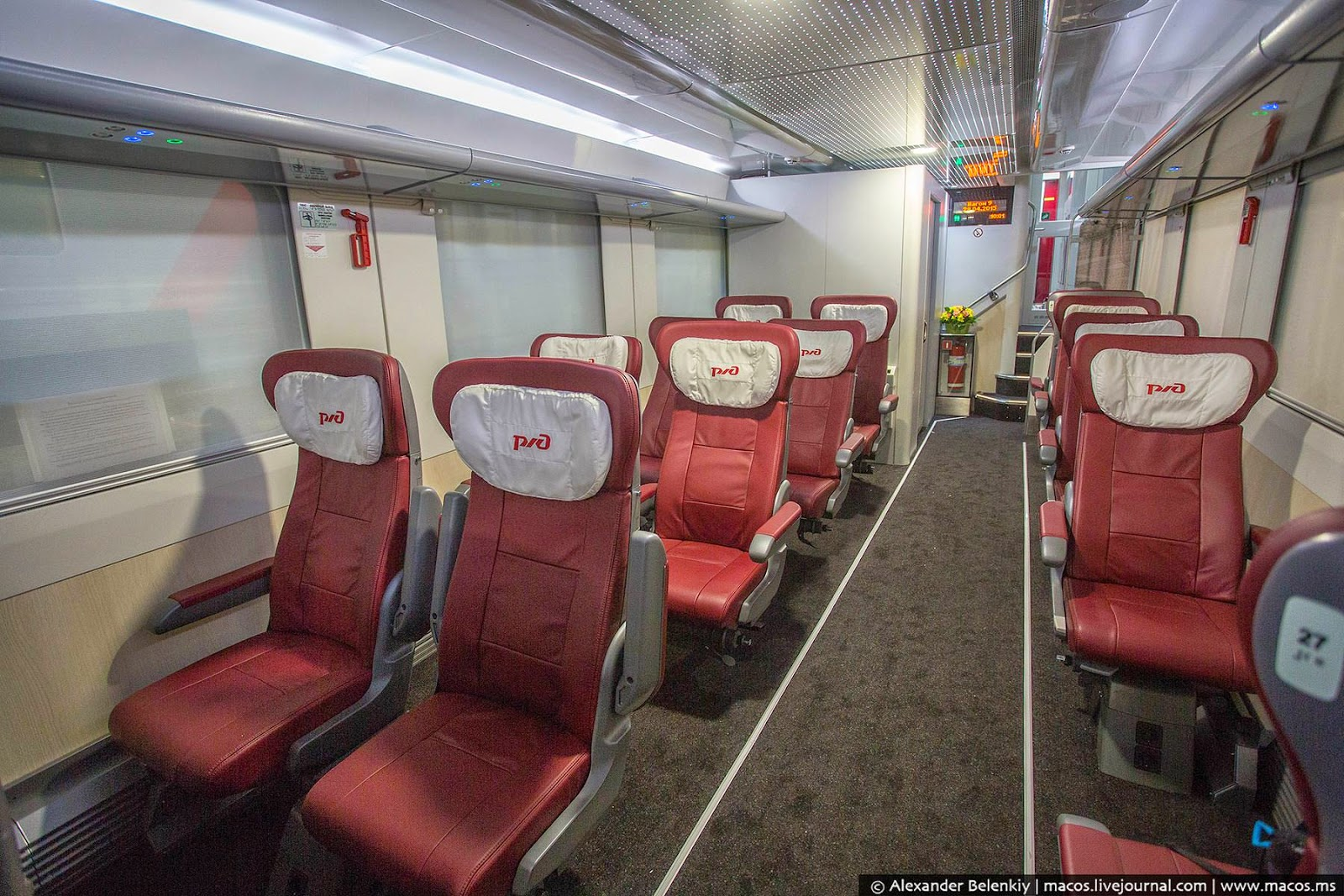 Фото вагона с сидячими местами схема