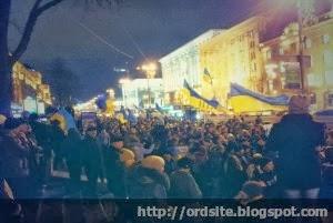 На Евромайдане собрались 10 тыс студентов из многих вузов Украины