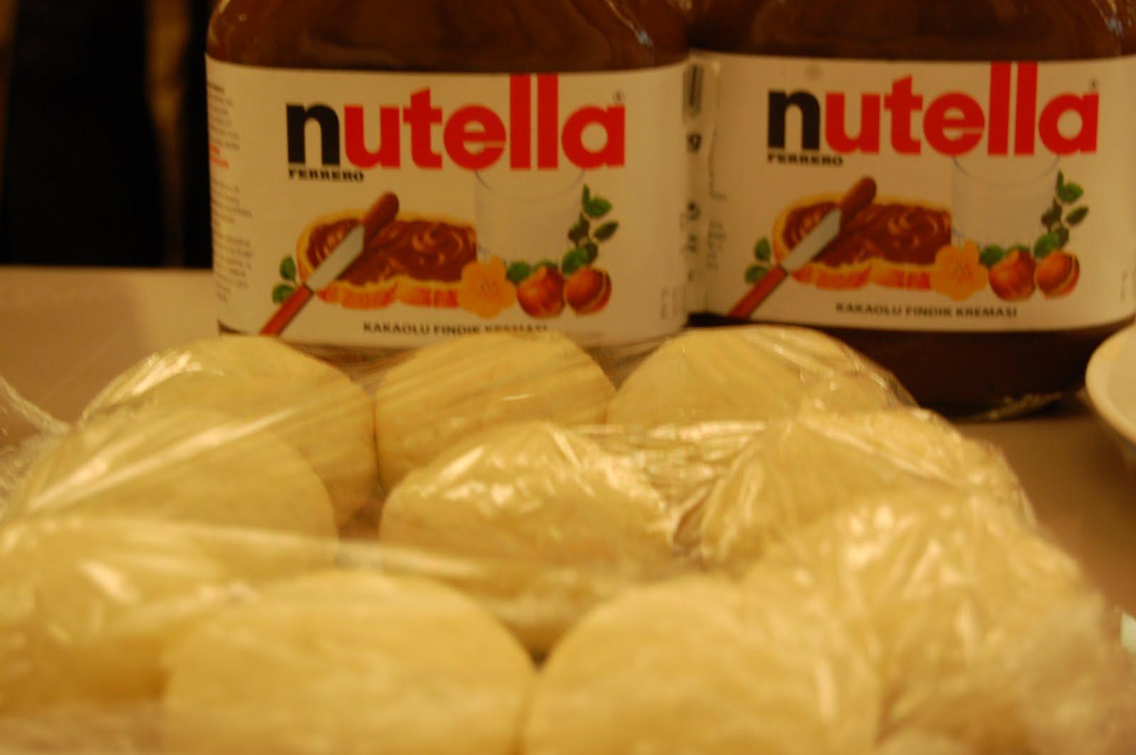 Nutellalı Pita Ekmeği