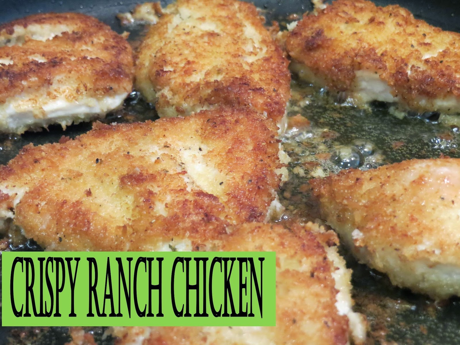 Two Magical Moms: Crispy Ranch Chicken