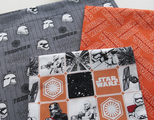 Fabrics - The Force Awakens collection by Camelot Fabrics