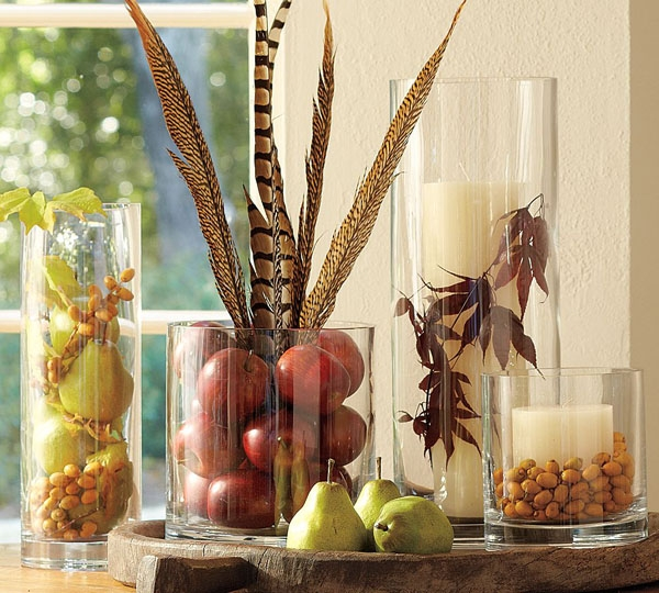 Clear Glass Vase Decorating Ideas