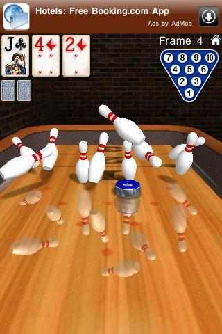Pin shuffle Bowling Lite Screenshot
