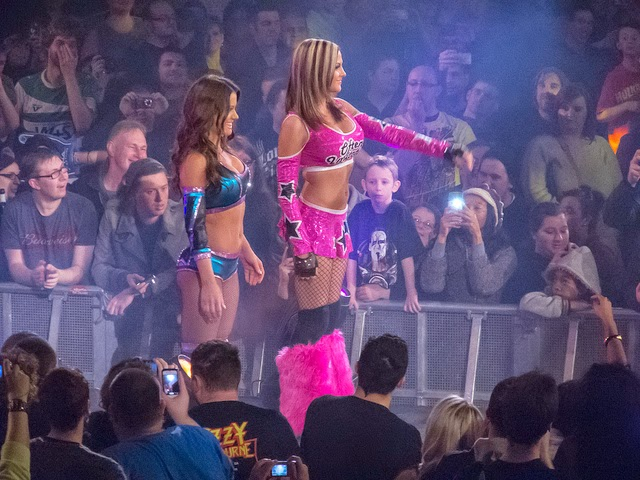 Miss Tessmacher and Velvet Sky