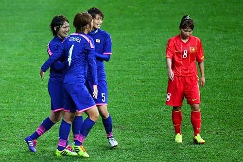 ĐT Nữ Việt Nam - Nhật Bản: Nỗ lực đáng khen