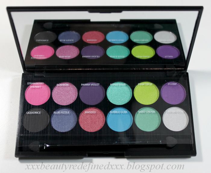 Beautyredefined By Pang Sleek I Divine I Candy Eyeshadow Palette