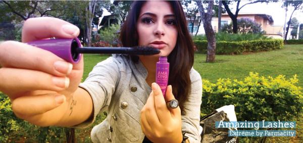 resenha mascara para cilios amazing lashes  - extreme by farmacity