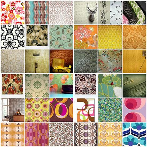 Mon petit vaisselier febrero 2013 - Como empapelar paredes ...