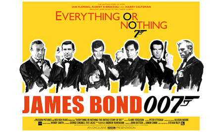 James Bond 007 Everything Or Nothing Poster