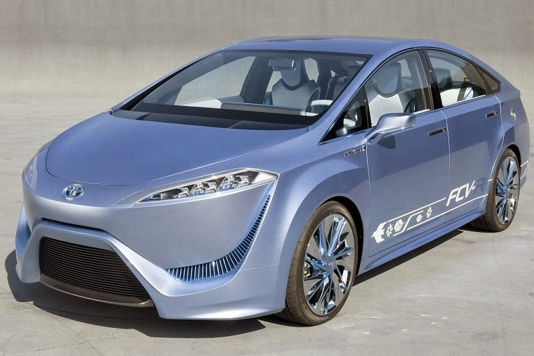 Toyota  Fuel Cell Vehicle Powered by Hydrogen