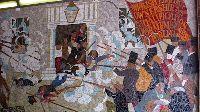 Democracy and class struggle wales the people 39 s art that for Chartist mural newport