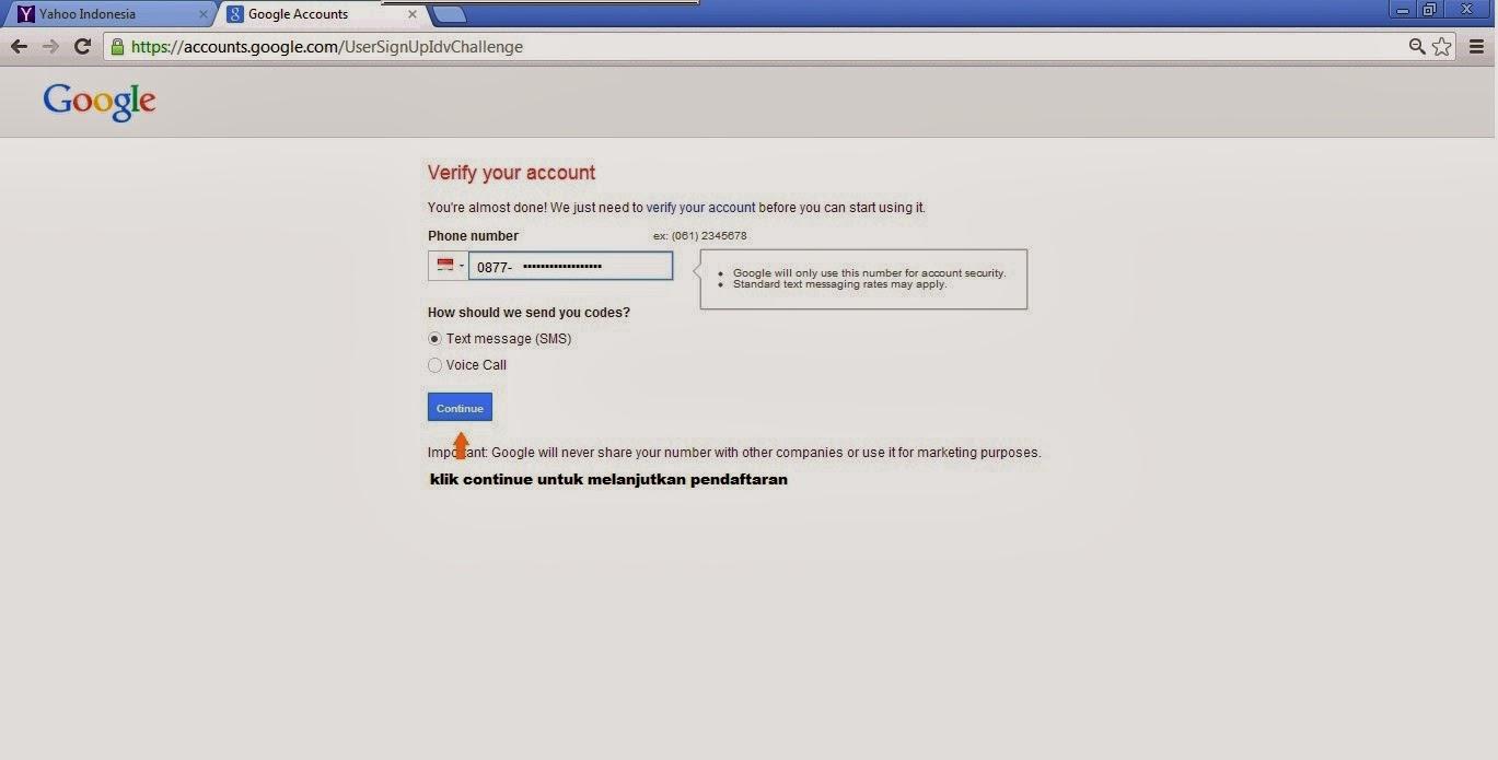 Cara membuat email di Google atau gmail | ~BERBAGI ILMU~