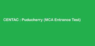 CENTAC MCA CET Results 2014 www.pec.edu