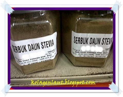 SERBUK DAUN STEVIA