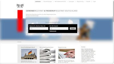 GES Registrat GmbH   Gewerberegistrat   Registrat.de   Branchenbuch  Freiberufregistrat