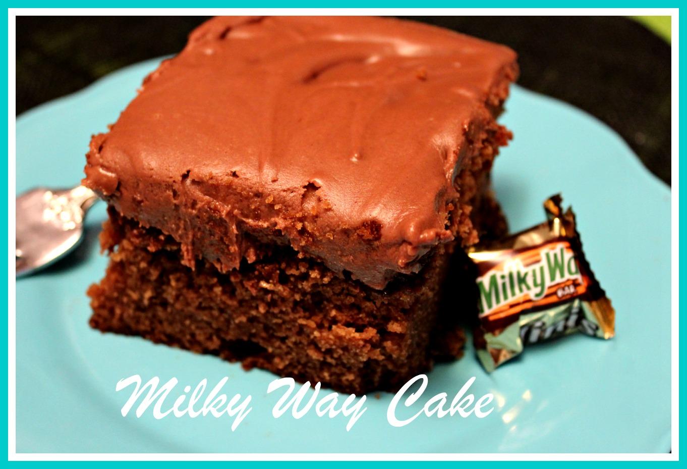 Milky Way Cake Using Cake Mix Recipe