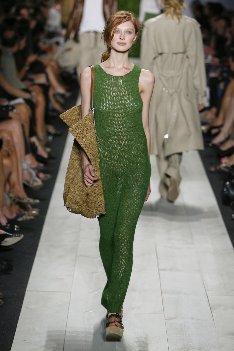 via fashioned by love | Michael Kors Spring/Summer 2011 | green