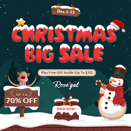 Rosegal Xmas sale