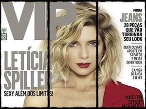 Leticia Spiller Pelada Na Revista Vip