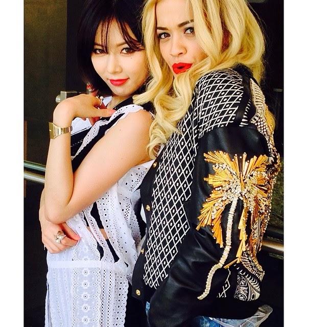 Hyuna Rita Ora Funny Or Die