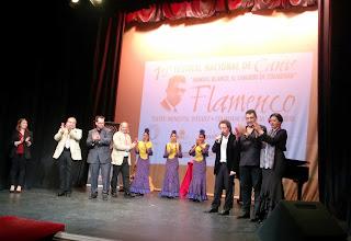 Clausura de segunda eliminatoria del certamen flamenco de Colmenar de Orejea