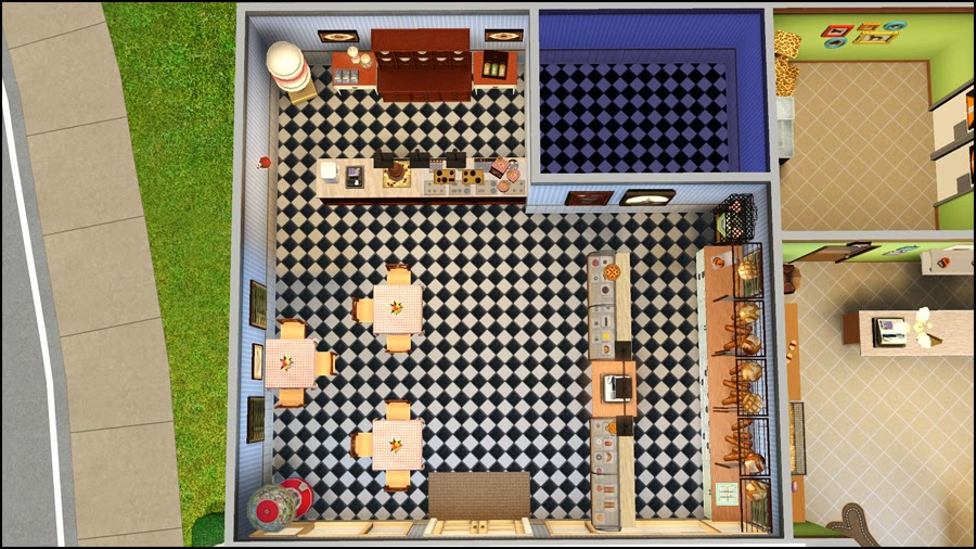 my sims 3 blog la brioche bakery and the curious owl pet shop by