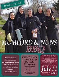 """""""Mumford & Nuns"""" BBQ"""