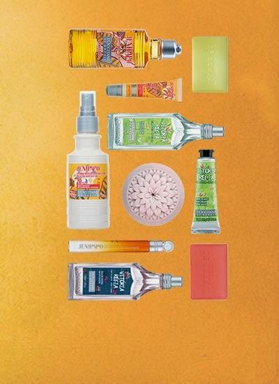 Loccitane nos propone para este verano dos gamas con productos brasileiros , el primero es el Jenipapo en el cual se inspira una completa colección de