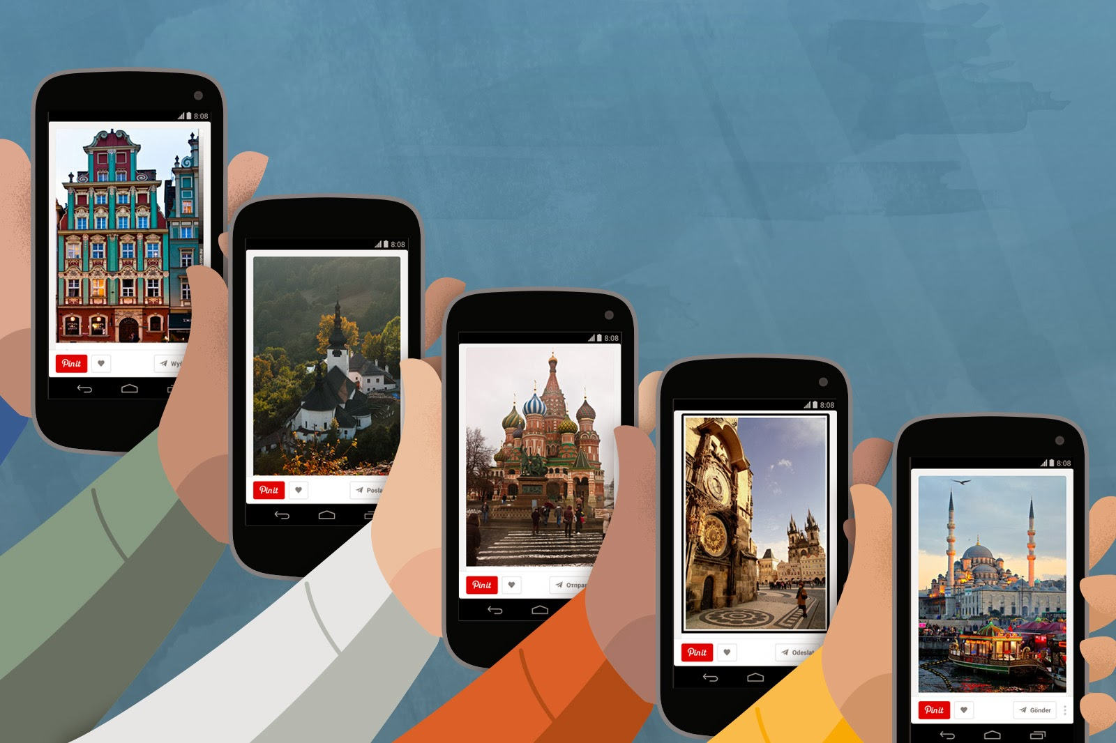 Pinterest Launches Refurbished Mobile Website Internationally