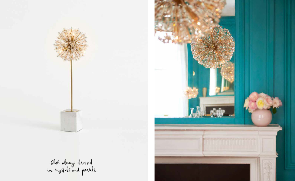 The Kate Spade Lighting And Furniture Collections