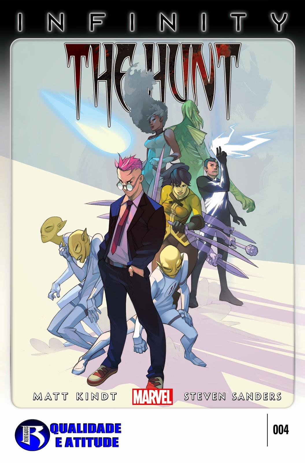 Nova Marvel! Infinito: A Caçada #4