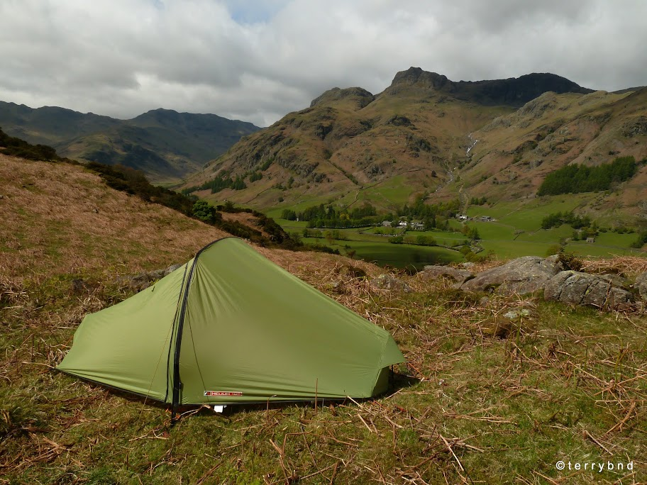Force Ten Helium 100 wild c&ing Lake District National Park & Review: Force 10 Helium 100 (2012 edition) tent | Terry Abraham