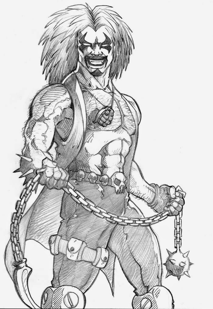 Lobo Pencil Drawing