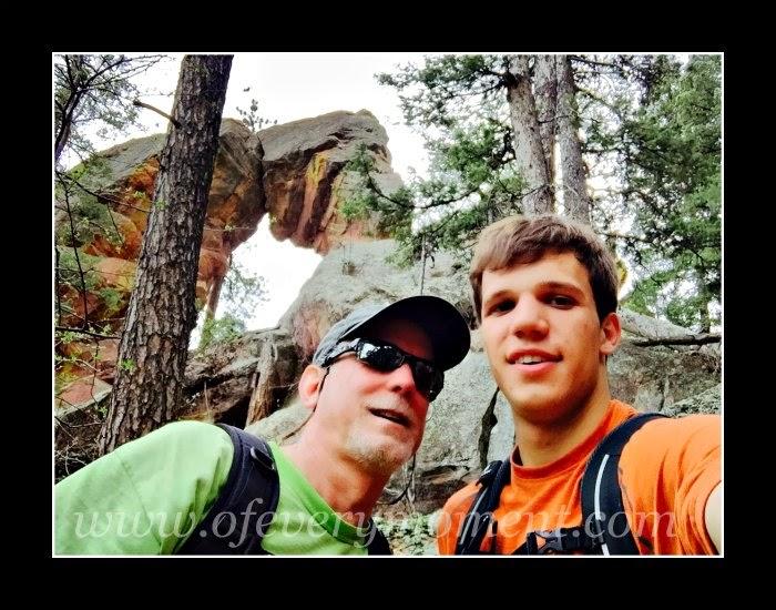 The Royal Arch, Boulder Colorado, hiking