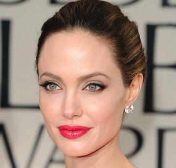 Make Up For Dolls: Angelina Jolie Golden Globes 2012 Red Lipstick Dupe