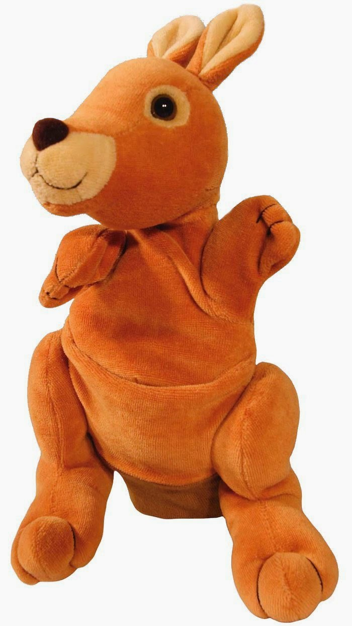 Hape Hand Glove Puppet Kangaroo, Multi Color worth rs 799 for Rs 499.