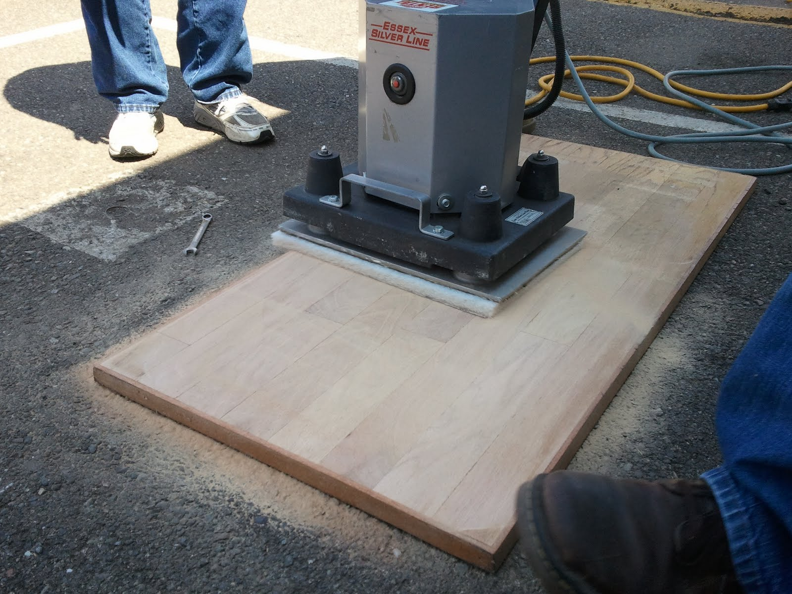 Timallenequipment Floor Sanding Demo Day At Tim Allen