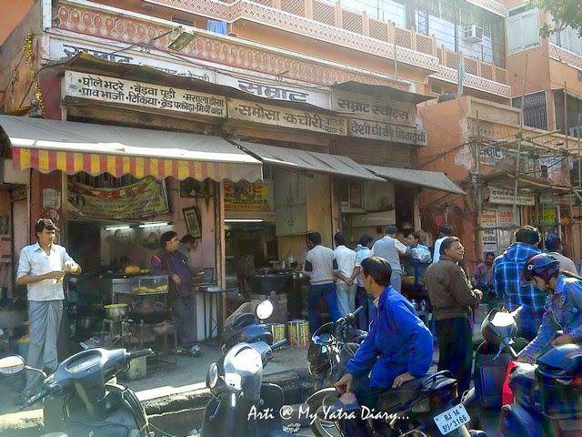 Samrat Restaurant, Chaura Raasta, Jaipur food, Rajasthan