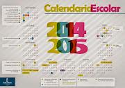 CALENDARIO ESCOLAR 2014-15