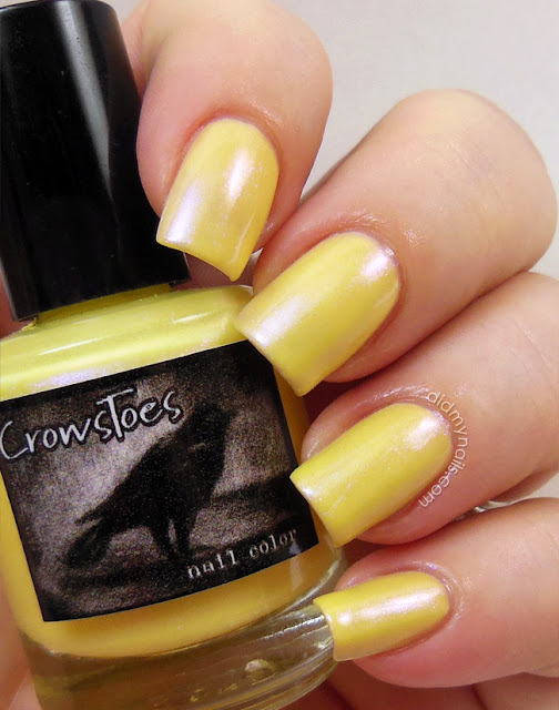 CrowsToes Toxic Buttercup swatch