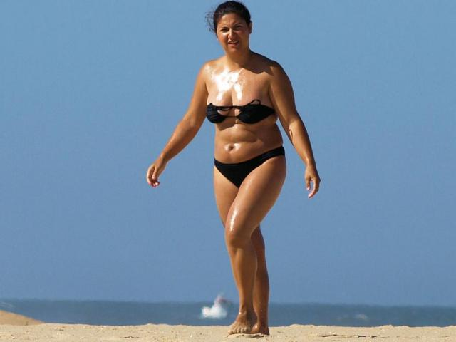 Chubby bikini body