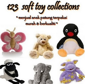 123 Soft Toys Giveaway!!!