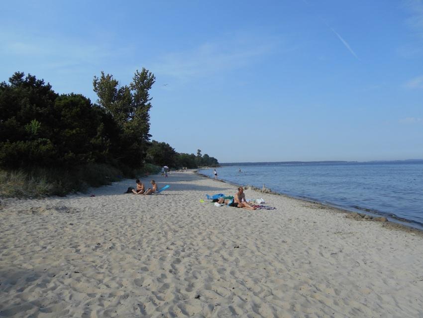La spiaggia di Åhus