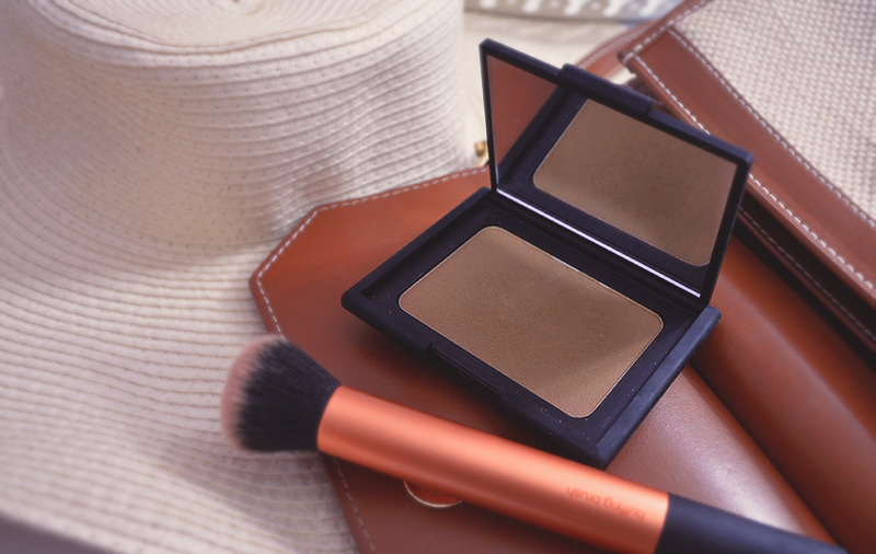 how to use nars laguna liquid bronzer