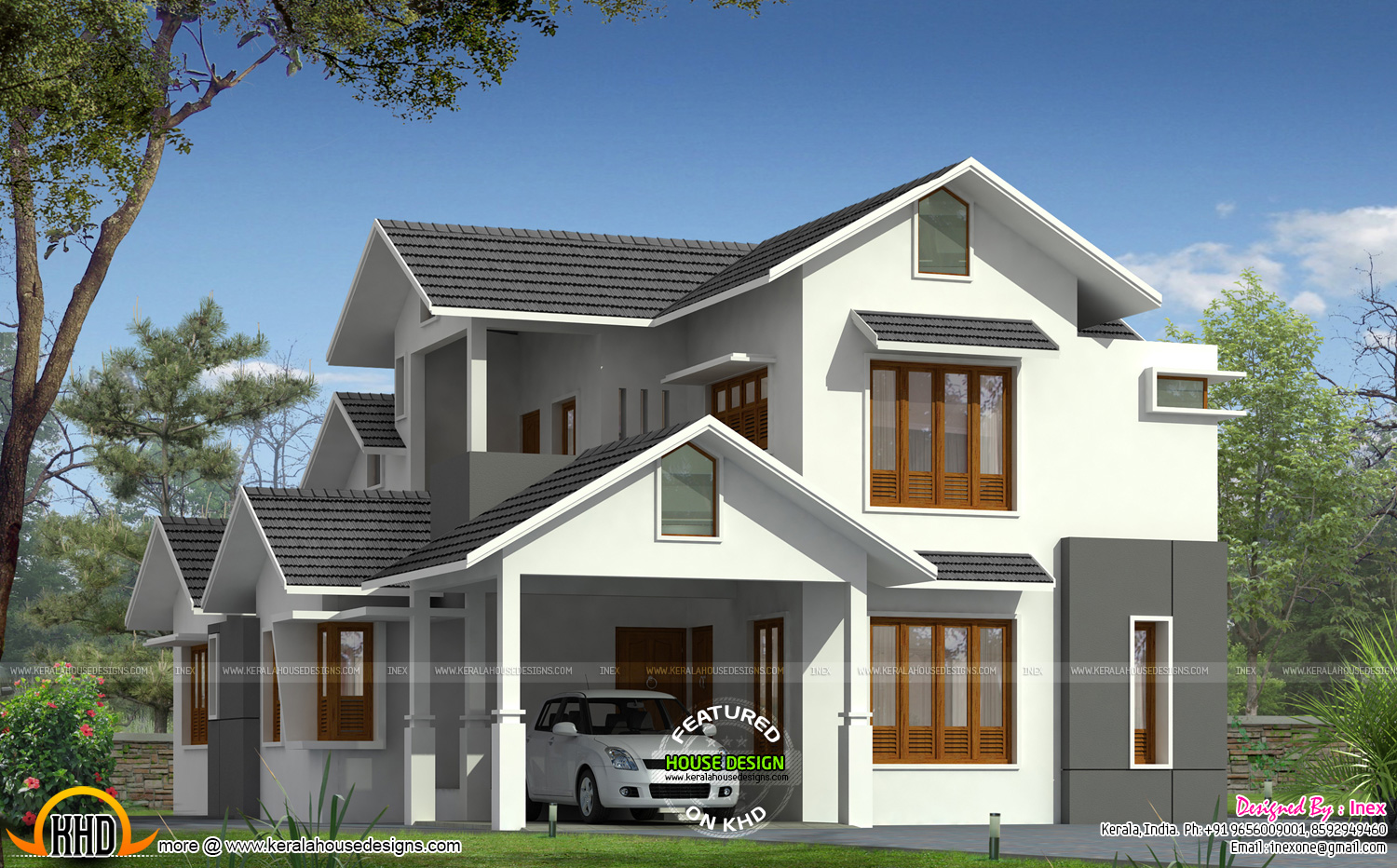 2150 sq ft 4 bhk house kerala home design and floor plans for 4 bhk home design
