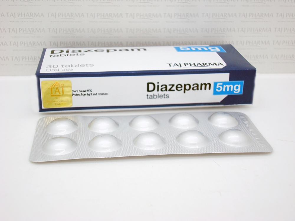 diazepam driving impairment