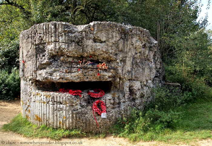 Pillbox on Hill 60, Flanders Fields Belgium