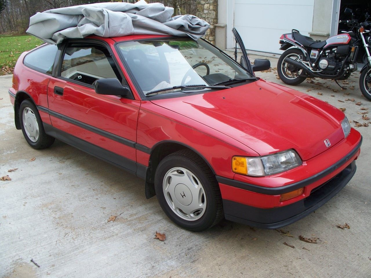 daily turismo stock sigh 1989 honda crx si. Black Bedroom Furniture Sets. Home Design Ideas