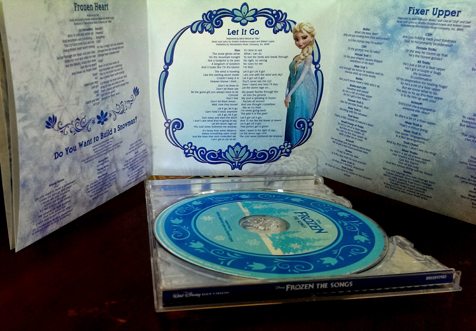 Disney Frozen The Songs CD