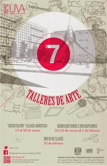 Comienza nuevo ciclo de talleres artísticos en Tlatelolco